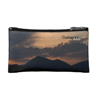 Fish Lake Sunset Customizable Makeup Bag