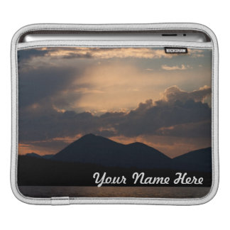 Fish Lake Sunset Customizable Sleeves For iPads