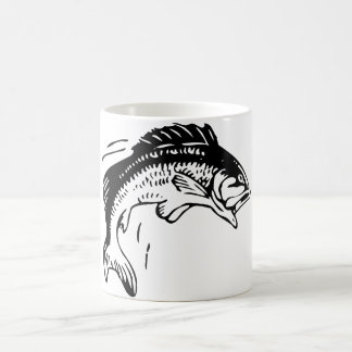 Fish Leaping Out of Water Coffee Mug