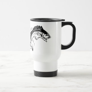 Fish Leaping Out of Water Travel Mug
