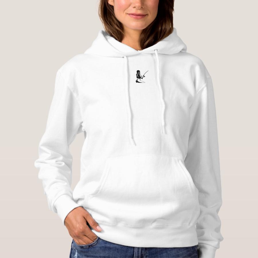 Fish Like A Girl Sweatshirt - Creative Long-Sleeve Fashion Shirt Designs