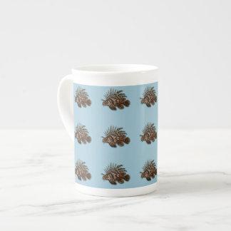 Fish lionfish aquatic seawater aquarium tea cup