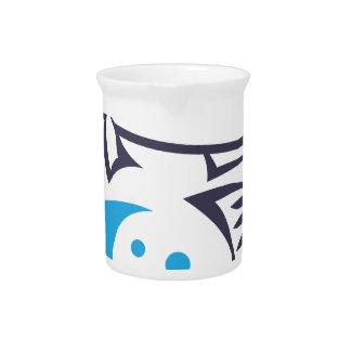 Fish logo design beverage pitchers