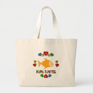 Fish Lover Canvas Bag