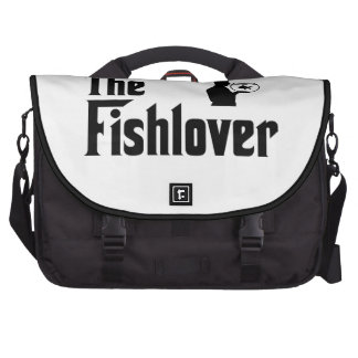 Fish Lover Laptop Computer Bag
