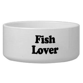 Fish Lover Dog Food Bowls