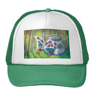 Fish Magical  Mansion in the Forest Hats