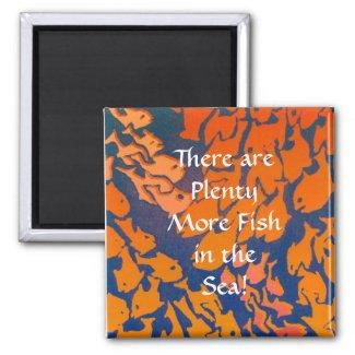 Fish Magnet magnet