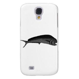 Fish Mahimahi Grey The MUSEUM Zazzle Gifts Galaxy S4 Cover