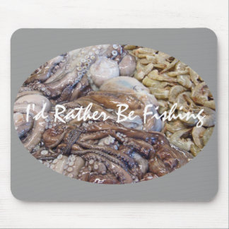 Fish Market Mouse Pad
