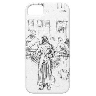 Fish Market Ostend Belgium 1860 iPhone SE/5/5s Case