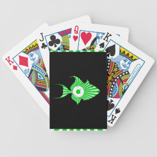 FISH MAYA AZTEC DRCHOS.COM CUSTOMIZABLE PROCTS BICYCLE PLAYING CARDS