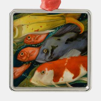 Fish Metal Ornament