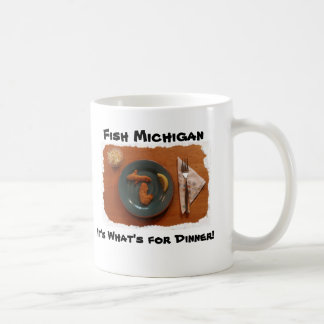 Fish Michigan, It's What's ... Coffee Mug