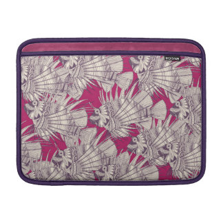 fish mirage berry MacBook sleeve