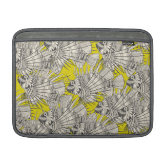 fish mirage chartreuse sleeve for MacBook air