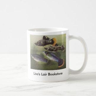 Fish - Mollies - Poecilia sphenops Bookstore Promo Coffee Mug