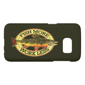 FISH MORE - WORK LESS SAMSUNG GALAXY S7 CASE