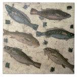 """Fish (mosaic) tile<br><div class=""""desc"""">Image:54625  Fish (mosaic). Roman,  (1st century AD). Museo Nazionale,  Rome,  Italy,  Index.  Art,  Fine Art.</div>"""