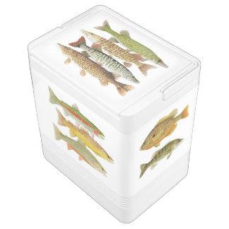 Fish Motif Igloo Cooler