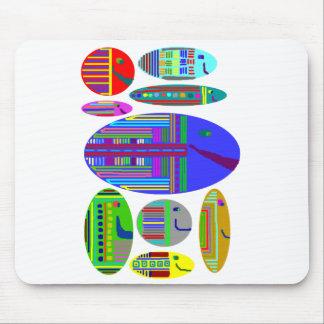 Fish Multicolored Aquarium Mousepad