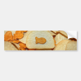 Fish 'N Chips Car Bumper Sticker