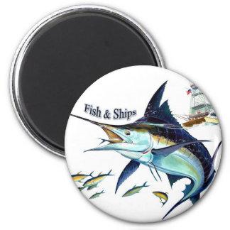 fish n ships refrigerator magnets