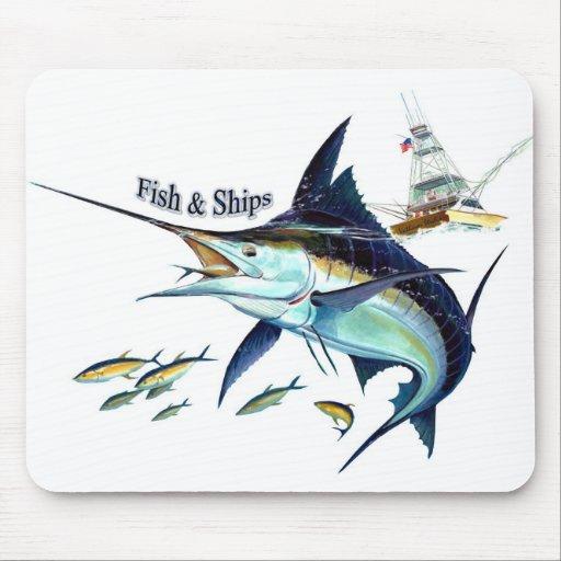 fish n ships mouse mat