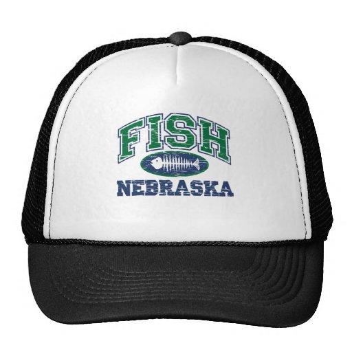 Fish Nebraska Mesh Hat