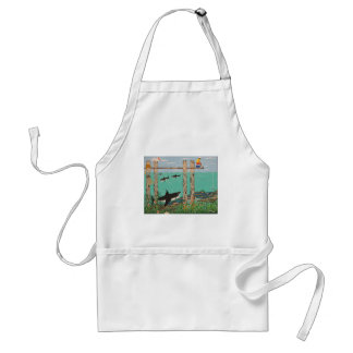 Fish Not Biting Today. Adult Apron