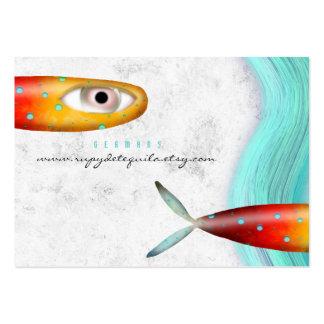 Fish Ocean Wave Elegant Business Card