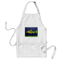 Fish of Color Adult Apron