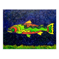 Fish of Color Postcard