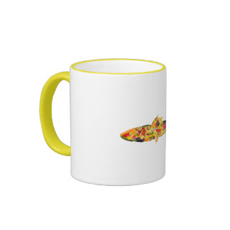 Fish OF fruits and vegetables. ADD your own text! Mug