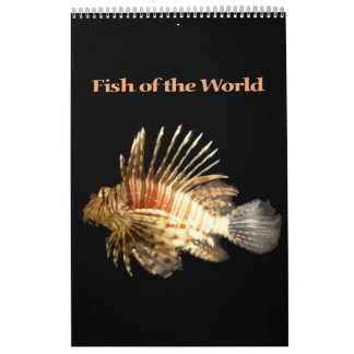Fish of the World Calendars