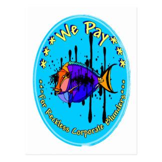 Fish Oil Postcard
