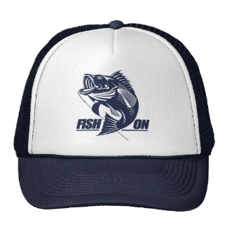 Fish On (Bass) Trucker Hat