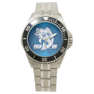 Fish On (Bass) Wrist Watch