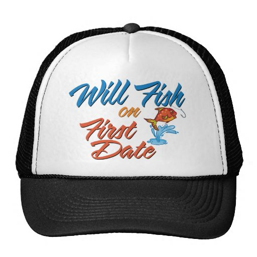 Fish on First Date Hats