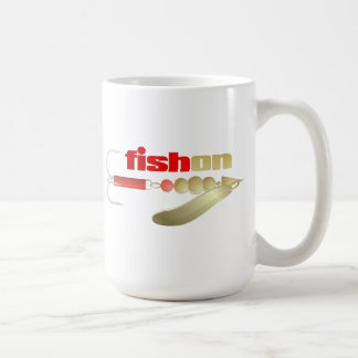 Fish On (Lure) Coffee Mug