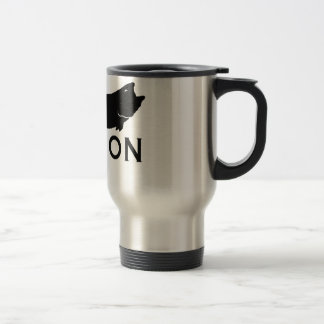 Fish On 15 Oz Stainless Steel Travel Mug