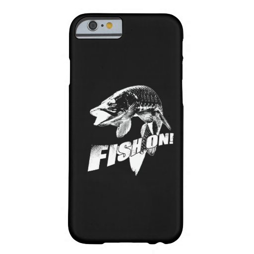 Fish on musky iPhone 6 case