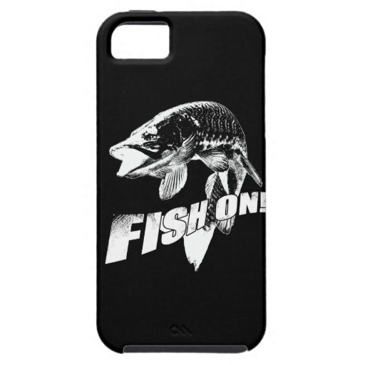 Fish on musky iPhone 5 cases