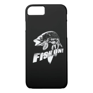 Fish on musky iPhone 7 case