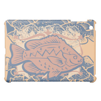 Fish on Peach  Cover For The iPad Mini