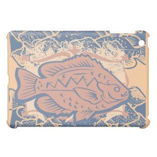 Fish on Peach Case For The iPad Mini