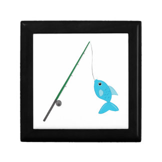 Fish On Pole Gift Box