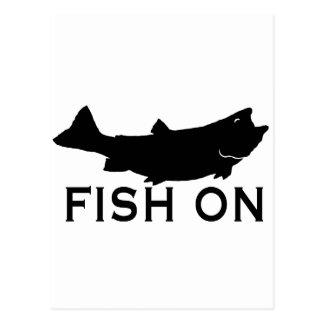 Fish On Postcards