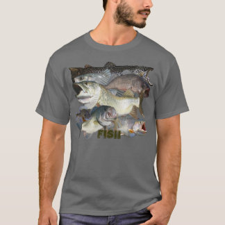 Fish on T-Shirt
