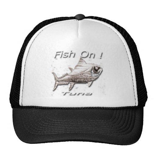 Fish On! Tuna For Dark Hats